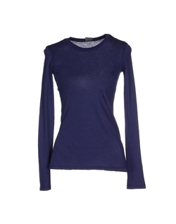 Bobi  - Jersey Round Collar Long Sleeve T-Shirt