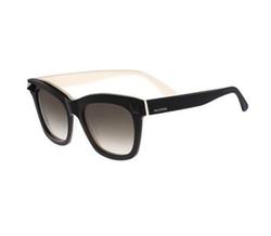 Valentino - Square Tonal Stud Sunglasses