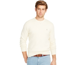 Polo Ralph Lauren  - Cotton Crew-Neck Sweater