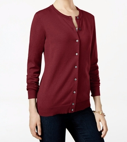 Karen Scott  - Button Cardigan