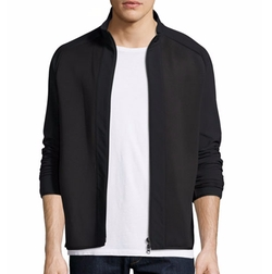 Theory  - Travus Scuba Front-Zip Jacket