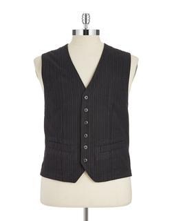 Black Brown 1826 - Striped Vest