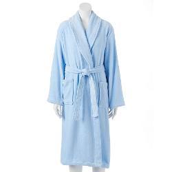 Jasmin Rose  - French Terry Velour Wrap Robe