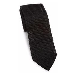 hook + ALBERT - Solid Knit Silk Tie