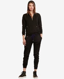 Lauren Ralph Lauren - French Terry Half-Zip Hoodie