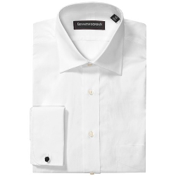 Kenneth Gordon  - Broad Cloth Dress Shirt