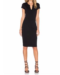 Eight Sixty - Short Sleeve Midi Dress