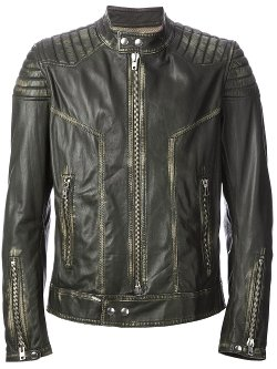 Sword  - Ribbed Biker Jacket