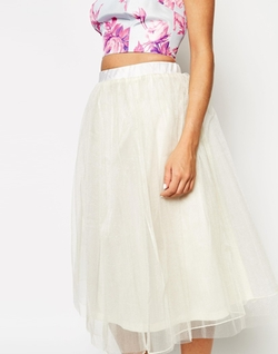 True Violet - Tulle Skirt