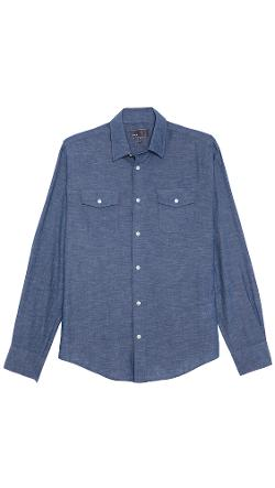 Vince  - Chambray Sport Shirt