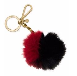 Michael Kors - Michael Bicolor Fur Key Charm