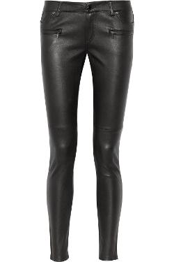 Michael Kors - Leather Skinny Pants