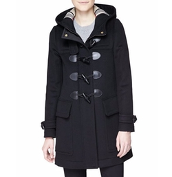 Burberry - Finsdale Hooded Duffle Coat