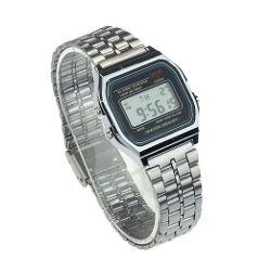 Suppion - Stainless Steel Digital Wrist Watch