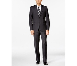 Andrew Marc  - Pindot Slim-Fit Suit