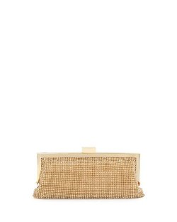 Badgley Mischka  - Saffron Crystal Clutch Bag
