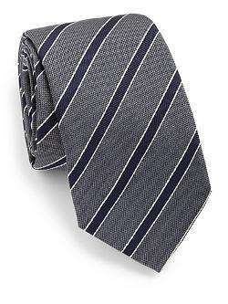 Eton of Sweden  - Striped Silk Tie