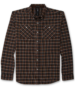 Billabong  - Newark Long Sleeve Plaid Shirt