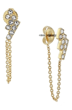 Vince Camuto  - Crystal Stud Ear Chains