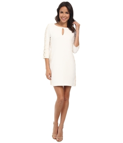 Jessica Simpson - Long Sleeve Stretch Crepe Dress