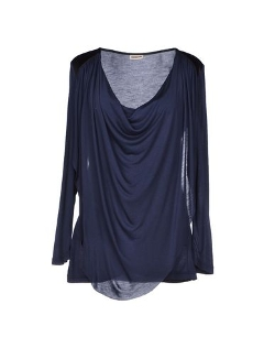 Noisy May - Draped Neckline T-Shirt