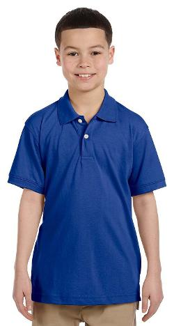 Harriton  - Youth 5 oz Easy Blend Polo Shirt M265Y