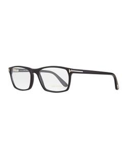 Tom Ford - Shiny Rectangular Eyeglasses