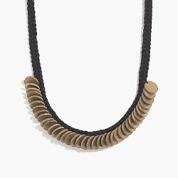 Daniela Bustos May  - Coin Statement Necklace