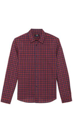 A.P.C.  - Plaid Mike Shirt