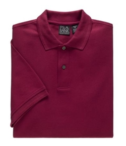 Jos. A. Bank - Traveler Short-Sleeve Solid Pique Polo Shirt