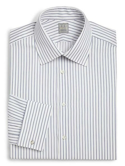 Ike Behar - Regular-Fit Crosby Striped Dress Shirt