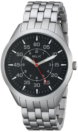 Relic - Clayton Silver-Tone Watch