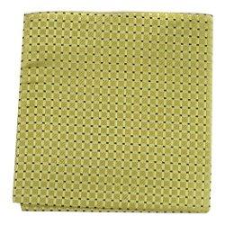 The Perfect Necktie  - Black Silk Pocket Square
