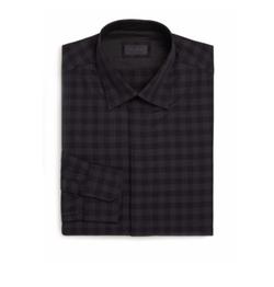 Pal Zileri  - Regular-Fit Check Dress Shirt