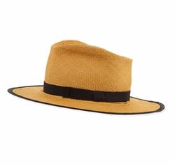 Gladys Tamez  - Trimmed Straw Hat