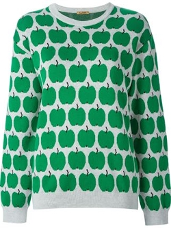 Peter Jensen - Apple Print Sweater