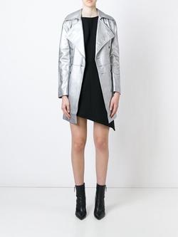 Saint Laurent - Metallic Coat