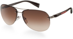 Prada Linea Rossa - Aviator Sunglasses