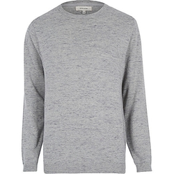 River Island - Marl Melange Sweater