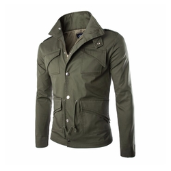 Summer River London - Trench Thick Military Rider Jacket