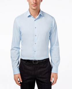 Alfani - Solid Dress Shirt