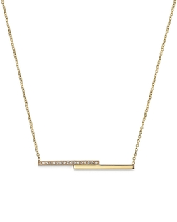 Zoë Chicco - Staggered Bar Necklace