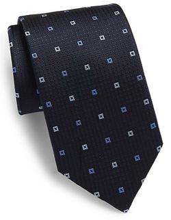 Saks Fifth Avenue - Neat Square Silk Tie