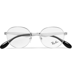 Ray Ban  - Round Frame Metal Optical Glasses