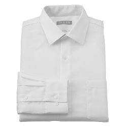 Arrow Fitted - No-Iron Sateen Spread-Collar Dress Shirt