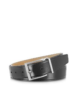 Moreschi - York Black Calf Leather Belt