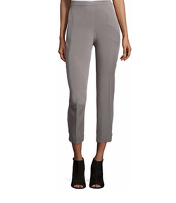 Eileen Fisher - Lightweight Twill Ankle Pants