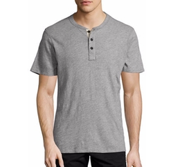 Rag & Bone - Standard Issue Short-Sleeve Henley T-Shirt