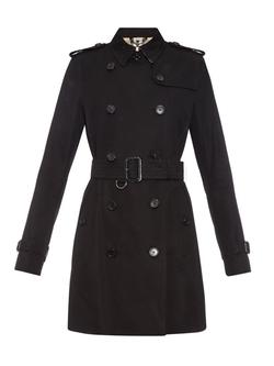 Burberry London - Kensington Mid-Length Gabardine Trench Coat