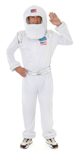 Bristol Novelty - Adults Astronaut Costume